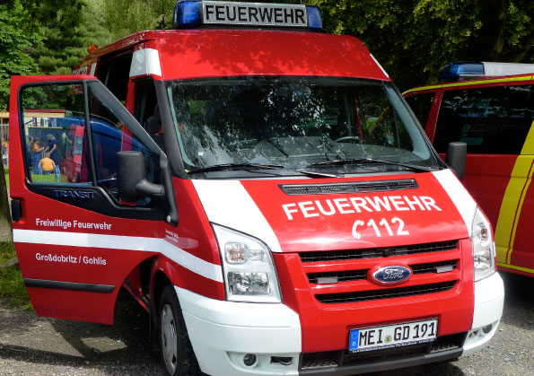 Einsatzfahrzeug Feuerwehr