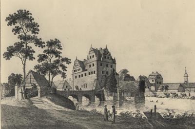 Grafik Wasserschloss Oberau
