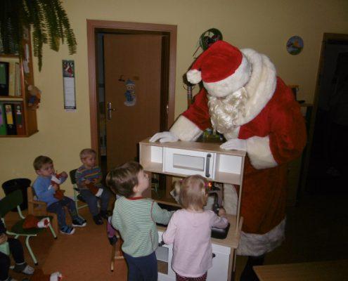 Der Nikolaus hat was mitgebracht...