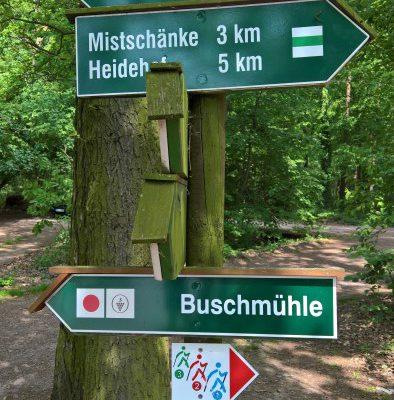 Eröffnung Nordic Walking Route