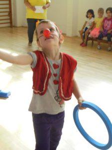 Clown in der Zirkuswoche