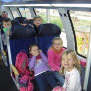 Im Zug nach Rathen