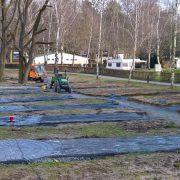 Bau Minigolfanlage im Waldbad 30.01.2018