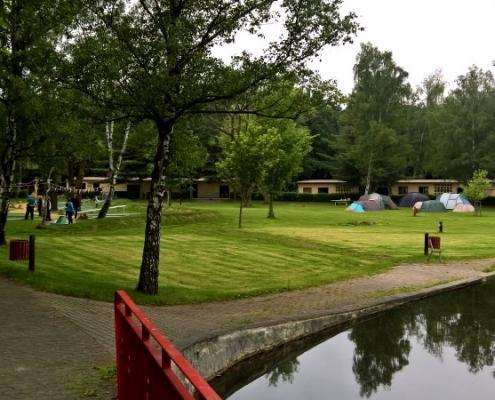 Minigolfanlage Überblck Zeltplatz
