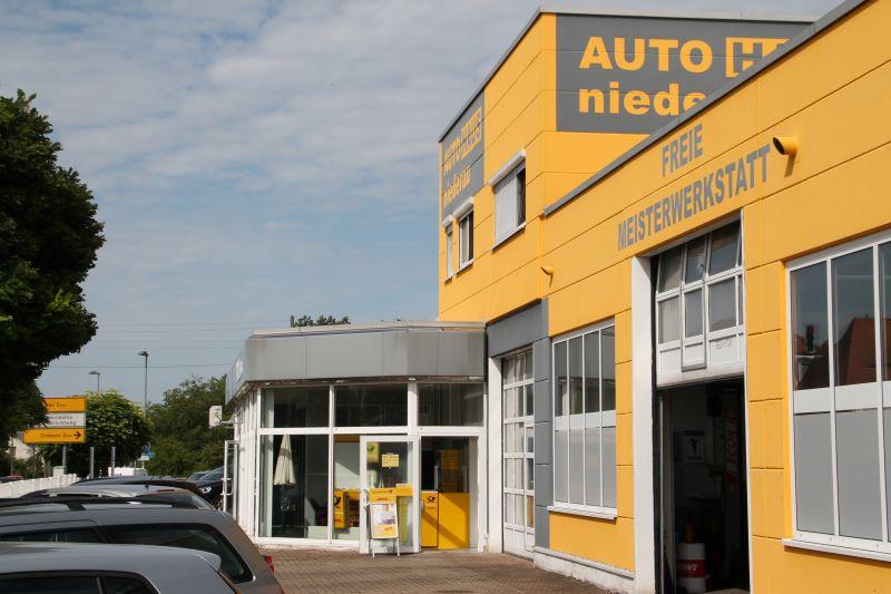 Autohaus Niederau mit Postfiliale